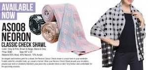 AS008 Classic Check Shawl