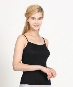 UW151 Black Camisole Undershirt